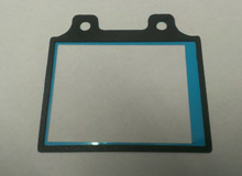 Laser Cutting & Laminating of an LCD Bezel Gasket & Shield for Electronic Applications